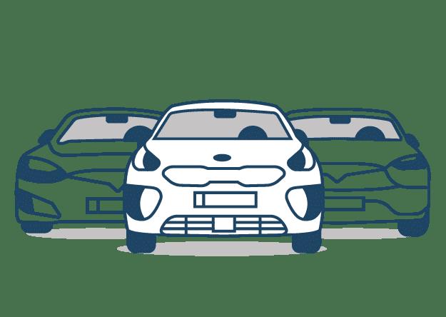 Overzicht van al onze aangeboden elektrische auto's