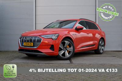 Rode Audi E-Tron 55 met 4% bijtelling tot 1 januari 2024