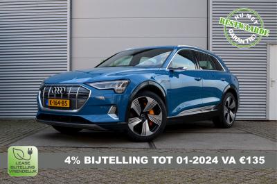 Blauwe Audi E-Tron 55 met 4% bijtelling tot 1-2024 K-164-BS