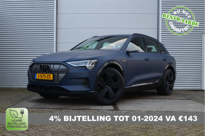 25227595/Audi/e-tron 55 quattro advanced Pro Line Plus/4% Bijtelling, MIA Subsidie, 74.379ex