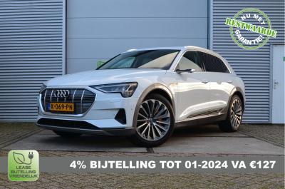 26137384/Audi/e-tron 55 quattro advanced Pro Line Plus/4% Bijtelling, MIA Subsidie, 77.272ex