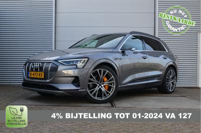 26381310/Audi/e-tron 55 Quattro Advanced Pro Line Plus/MIA & 4% Bijtelling, Full Options, 78.512ex