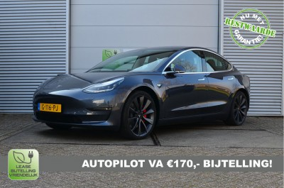 26908815/Tesla/Performance/December-2019, 4% Bijtelling, AutoPilot, incl. BTW