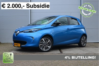 22987799/Renault/R90 Life Limited 41 kWh/Accu Huur, 4% Bijtelling, incl. BTW